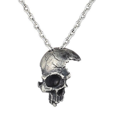 Collier Crane Guerrier  Motard Passion