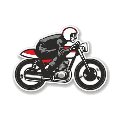 Sticker Vintage Moto - Motard Passion