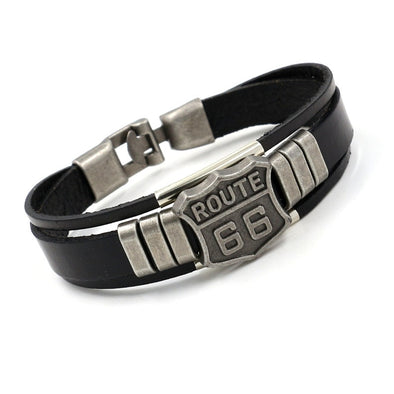 Bracelet Route 66  Motard Passion