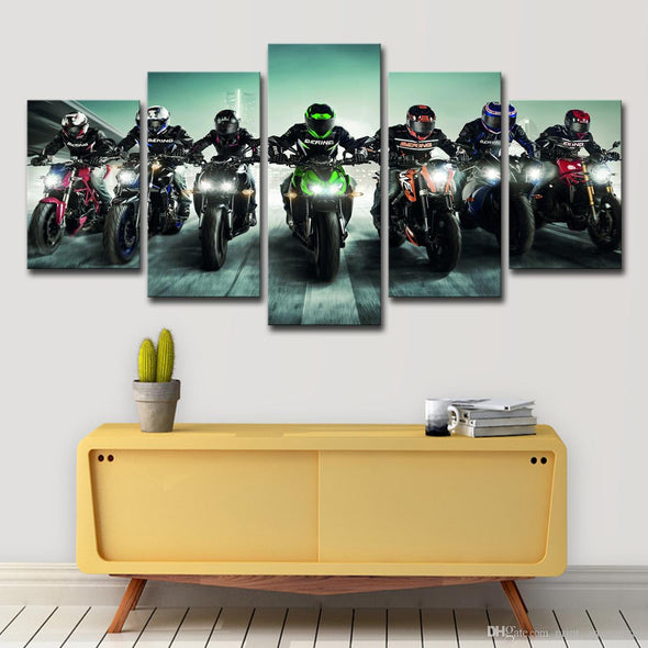 Tableau Gang De Motards - Motard Passion