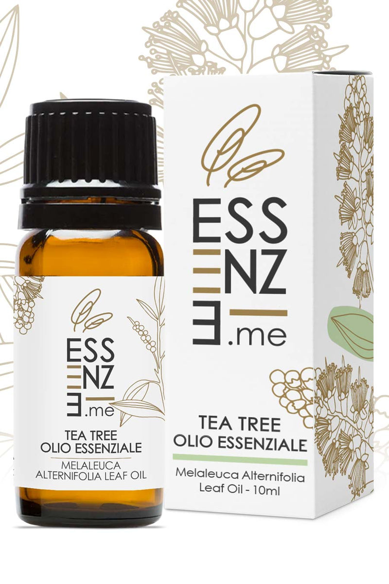 Olio essenziale di Tea Tree - Melaleuca Alternifolia Leaf Oil 10ml Essenze.me