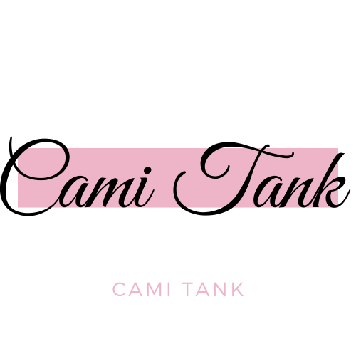 Cami Tank In Pink And White