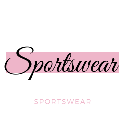 Sportswear In Pink And White