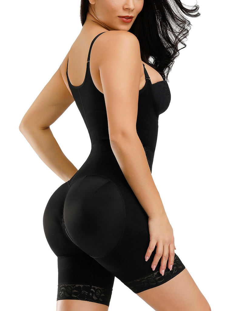 Boy Short Body Shaper With Butt Lifter
