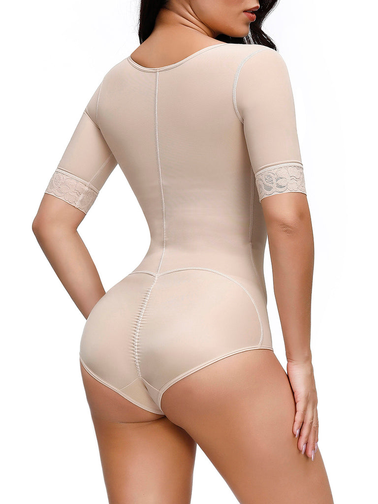 Half Sleeve High Compression Full Body Shaper