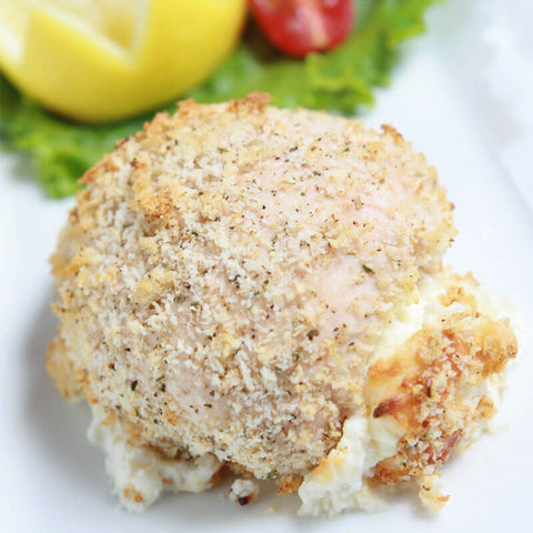 Four Cheese Stuffed Chicken