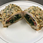 Spinach & Bacon Stuffed Chicken