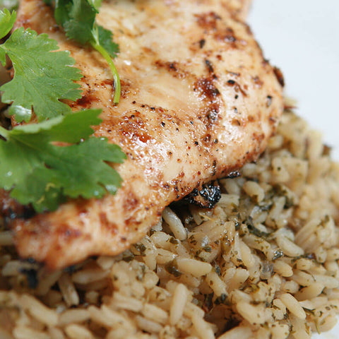 Marinated Chicken & Wild Rice