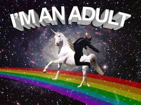 adult unicorn meme