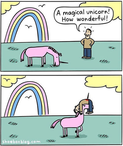 unicorn comic meme