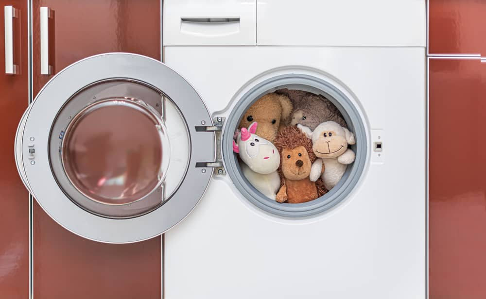 how to wash stuffed animal washing machine