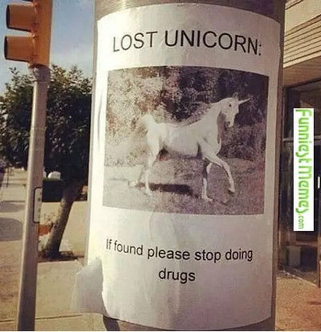 lost unicorn meme