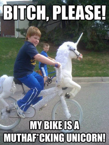 unicorn bike meme
