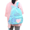 Blue Sequin Unicorn Backpack