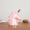Gold Unicorn Piggy Bank