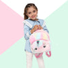 Pink Fluffy Unicorn Backpack