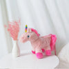 Pink Rainbow Unicorn Plush