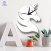 Unicorn Mirror Clock