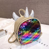 Rainbow Sequin Unicorn Backpack