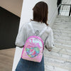 Pink Sequin Unicorn Backpack