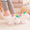 3d Unicorn Mule Slippers
