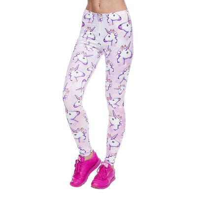 Light Pink Unicorn Leggings