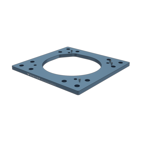 Vention Robot Mounting Plate for Fanuc LR Mate 200iD Robot