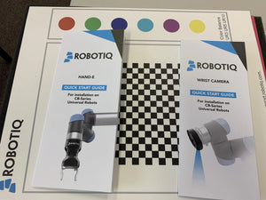 NEW Universal Robots UR5e Cart with Robotiq Machine Tending Package with Remote Monitoring