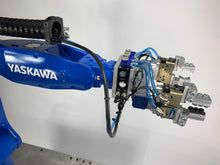 Load image into Gallery viewer, NEW Yaskawa GP7 Cart with Gripper and Safety Scanner Add-Ons
