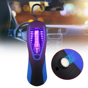 Handy Portable Ultraviolet UV Lamp Handheld For Auto- Hangable Battery Operated-Refresh your Car