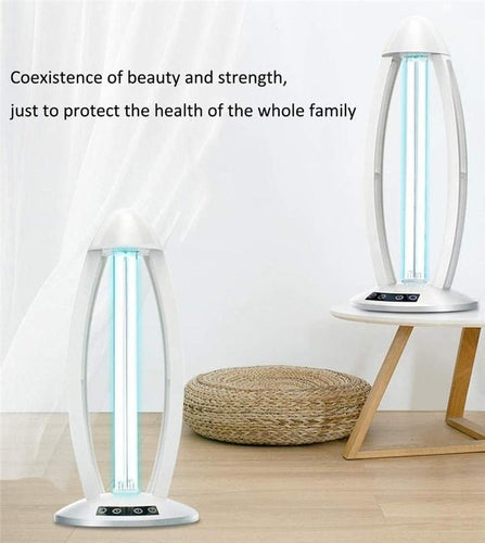Stylish 38W High Ozone UV Disinfection lamp 110V Ultraviolet Lamps UVC Germicidal Light