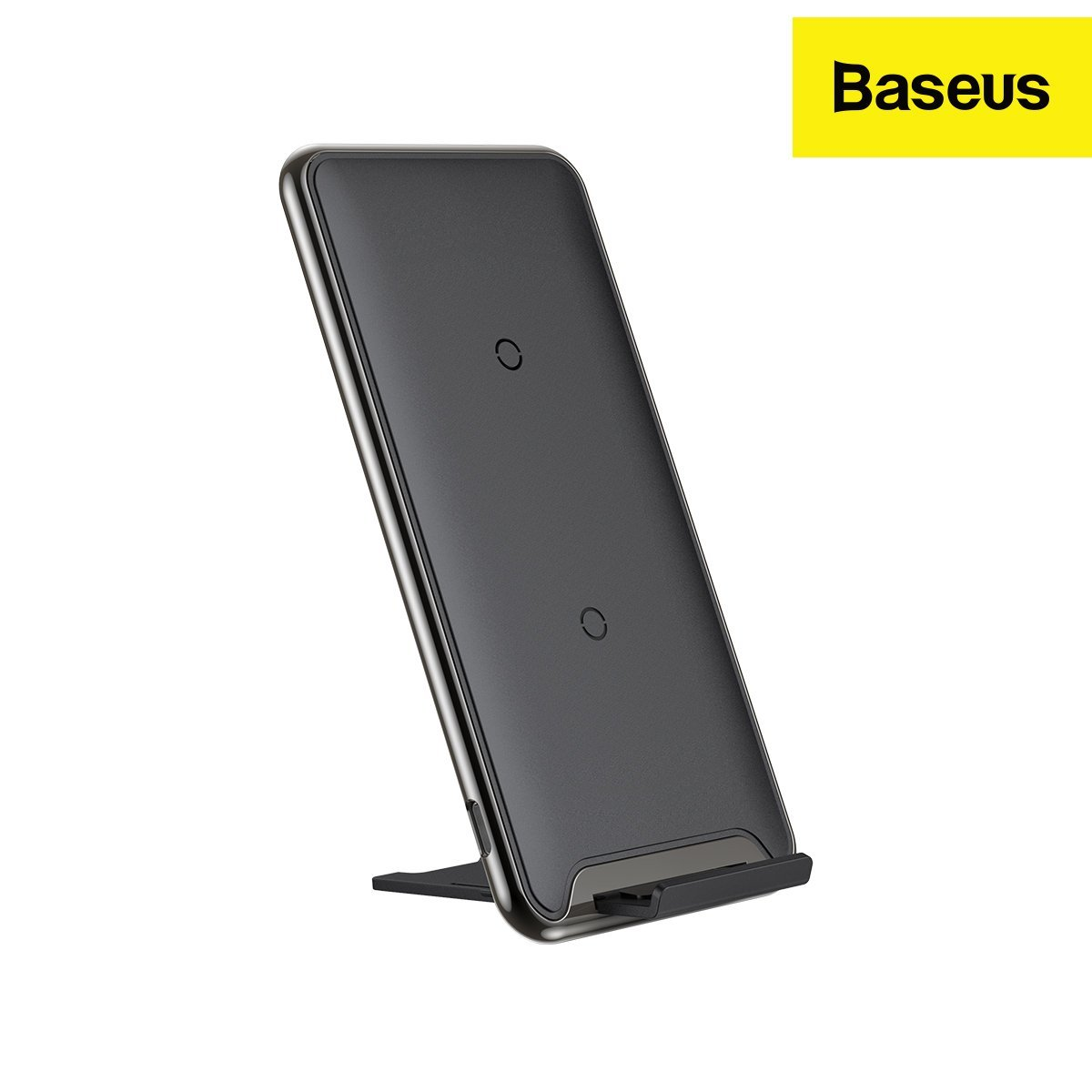 Baseus Triple Coil Qi Wireless Charging Pad I 3 Charging Positions and Phone Stand (10 Watt)