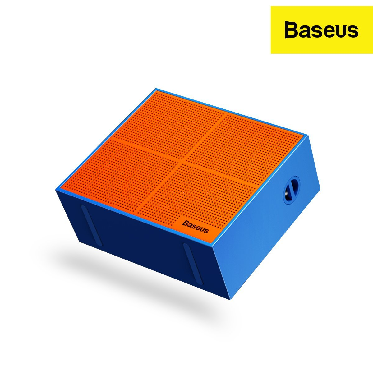 Baseus Encok E05 5W Music-Cube Wireless Speaker with 1500 mAh Battery & 15 hour Playtime Blue- Baseus Official