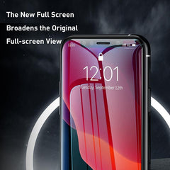 Baseus 0.30 mm Full Coverage Curved Tempered Glass Protector 6.5 inch for iPhone Xs Max