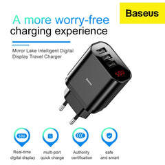 baseus fast charging wall charger