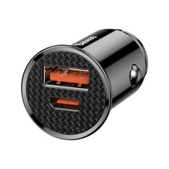 Baseus Circular Plastic A+C 30W  PPS Car Charger.
