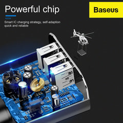 baseus powerful chip  in wall charger