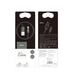 Baseus Yaven 2.1A TPE Micro Cable for Strong Resistance (1M)
