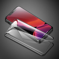 Baseus 0.30 mm Full Coverage Curved Tempered Glass Protector 6.5 inch for iPhone Xs Max(Free Xs Max Transparent Back Cover)