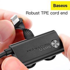 Baseus Suction Cup 3M TPE Cable 1.5A for IP