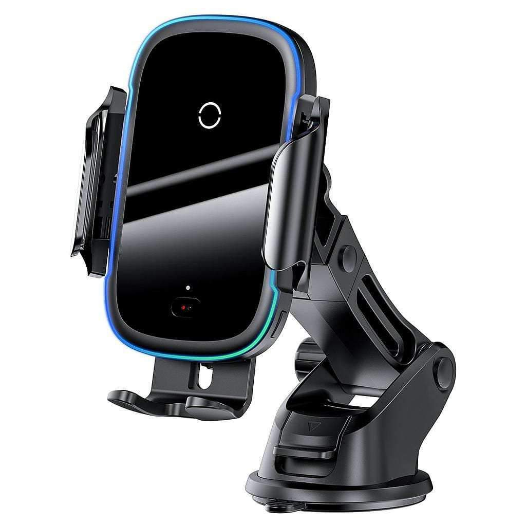 Baseus 15W Wireless Charger Car Mount Qi Enabled Fast Charging
