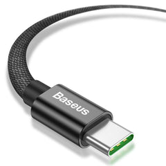 Baseus double fast charging USB cable USB For Type-C 5A 1m