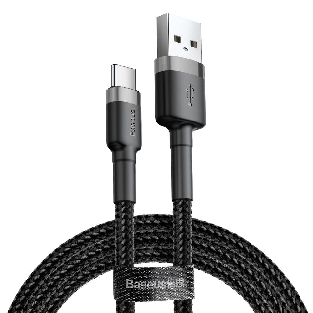 Baseus cafule Cable USB For Type-C 3A 1M Gray+Black