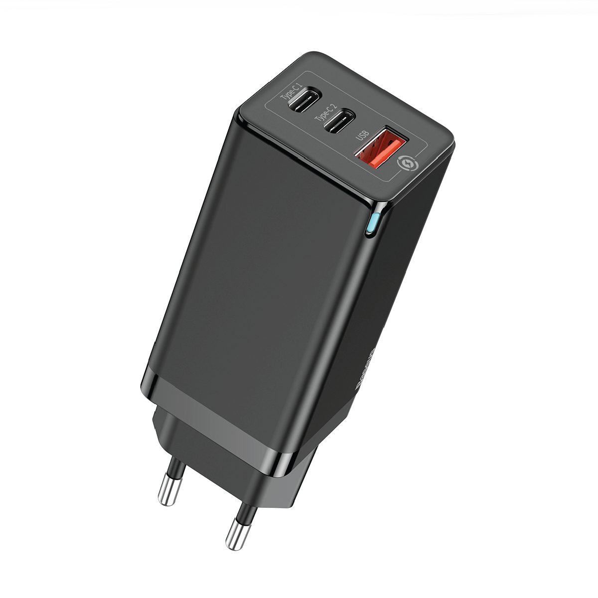 Baseus 65W GaN 2 Pro Fast Charger QC 4.0 3.0 USB Type-C PD with 100w  Type-C to Type-C Cable