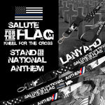Salute the Flag Kneel for the Cross
