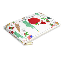 Load image into Gallery viewer, Accessory Pouch 'Christmas in New York Big Apple'