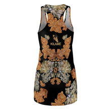 Load image into Gallery viewer, Women's Cut & Sew Racerback Dress 'Nude embroidery'