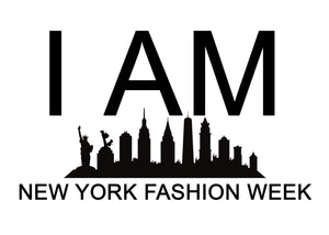 Women's Racerback Tank TASHA 'I AM NEW YORK FASHION WEEK'