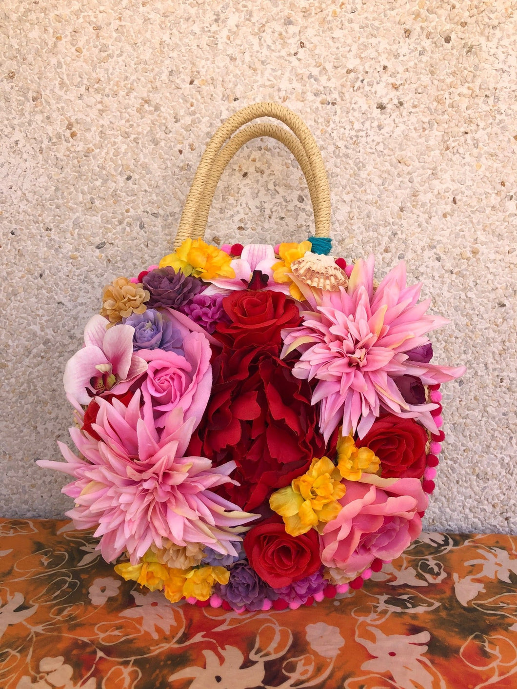 Mary Flowers Handbag