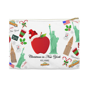 Accessory Pouch 'Christmas in New York Big Apple'